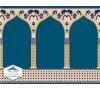 Taç Seccadeli Cami Halısı ASB 04
