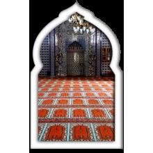 Seccadeli Cami Halıları